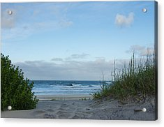 Acrylic Print featuring the photograph Coquina Beach by Gregg Southard