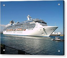 Coral Princess Acrylic Print by Shoal Hollingsworth