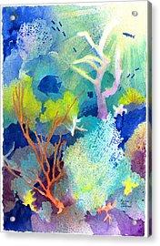 Coral Reef Dreams 1 Acrylic Print