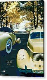 Cord 810-812  Acrylic Print
