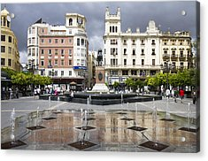 Acrylic Print featuring the photograph Cordoba Spain City Centre by Nathan Rupert