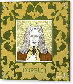 Corelli Acrylic Print by Paul Helm