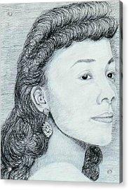 Coretta Scott King Acrylic Print