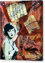 Corinne Acrylic Print