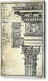 Corinthian Capitol Acrylic Print