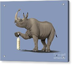 Cork It Durer Colour Acrylic Print