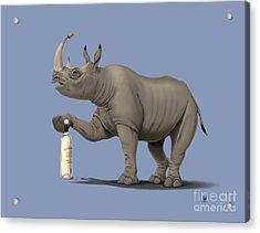 Cork It Durer Colour Acrylic Print by Rob Snow