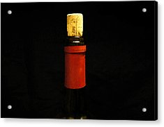 Corked Acrylic Print by Laurie Perry
