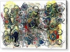 Corks And Bottlecaps Acrylic Print