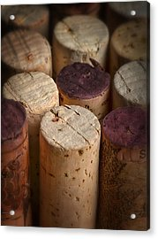 Corks Acrylic Print by Dennis James