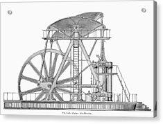 Corliss Steam Engine, 1876 Acrylic Print by Granger