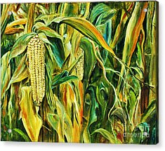 Spirit Of The Corn Acrylic Print
