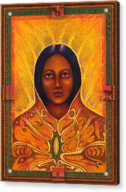 Corn Woman Acrylic Print