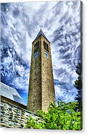 Cornell Clock Tower  Acrylic Print