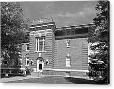 Cornell College Mc Wethy Hall Acrylic Print by University Icons