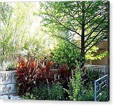 Corner Garden Acrylic Print