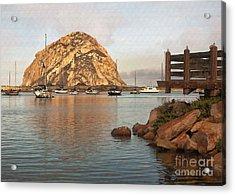 Corner Harbor Acrylic Print