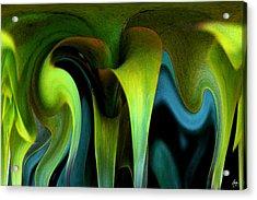 Cornflower Abstract No1 Acrylic Print