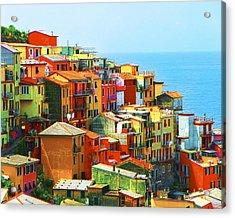 Corniglia Cinque Terre Acrylic Print