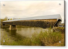 Cornish - Windsor Covered Bridge Acrylic Print