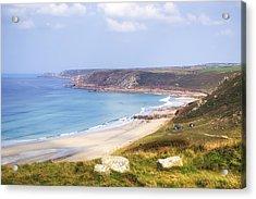 Cornwall - Sennen Cove Acrylic Print by Joana Kruse
