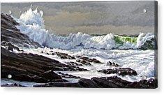 Cornwall Coast Acrylic Print by Paul Krapf