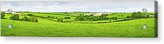 Cornwall Panorama Color Acrylic Print