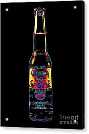 Corona Beer 20130405 Acrylic Print by Wingsdomain Art and Photography