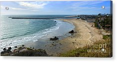Corona Del Mar Beach View - 02 Acrylic Print by Gregory Dyer