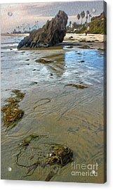 Corona Del Mar Coast Acrylic Print
