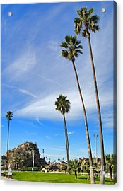 Corona Del Mar State Beach - 01 Acrylic Print by Gregory Dyer