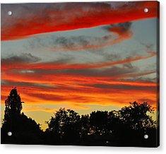 Corona Sunset Acrylic Print by Jim Robinson