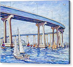 Coronado Bay Bridge Acrylic Print