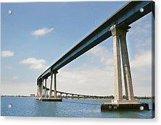 Coronado Bridge Acrylic Print by Andrew Kasten