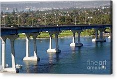 Coronado Bridge Acrylic Print by Gregory Dyer