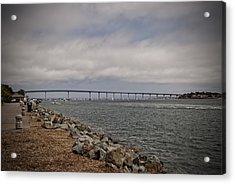 Coronado Bridge Acrylic Print