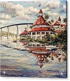 Coronado Centennial Acrylic Print