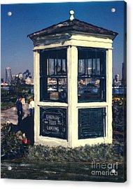 Coronado Ferry Landing Booth Acrylic Print