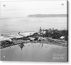 Coronado From Above 1920's Acrylic Print