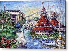 Coronado Heritage Acrylic Print