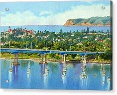 Coronado Island California Acrylic Print
