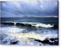 Coronado Islands In Storm Acrylic Print by Hugh Smith