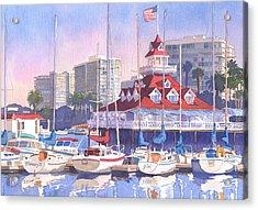 Coronado Shores Acrylic Print