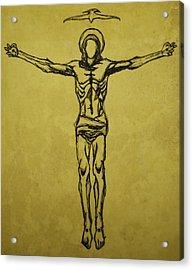 Corpus Christi And Dove Acrylic Print by Daniel P Cronin