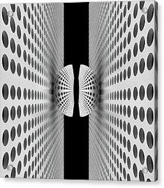 Corridor Of Ball Acrylic Print
