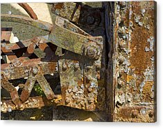 Corroded Steel Acrylic Print