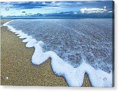 Corrugated Foam Acrylic Print