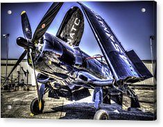 Corsair 454 Acrylic Print by Spencer McDonald