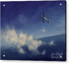 Acrylic Print featuring the painting Corsair by Stephen Roberson