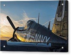 Corsair Sunset Acrylic Print